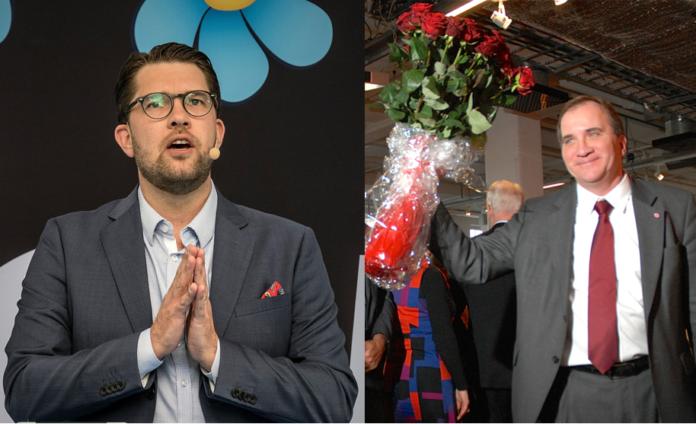Löfven Åkesson Socialdemokratin