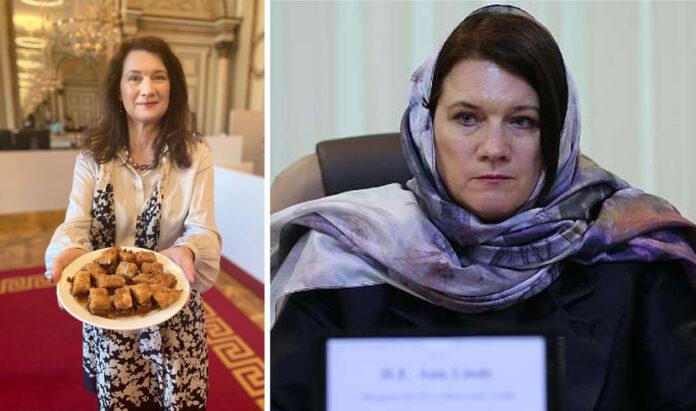 Ann Linde Ramadan firade - kristihimmelfärd