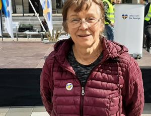 Liba Olsson torgmöte AfS