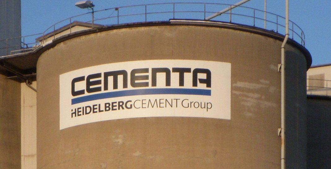 Cementa - byggkris - kalkbrytning - Gotland